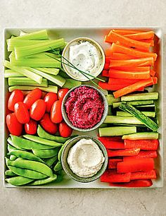 Luxury Crudités Selection More