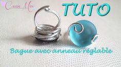 [ TUTO ] bague en aluminium avec anneau réglable