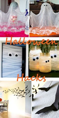 Die besten Deko Hacks für Halloween! Gruseliger Deko Spaß buh huh!!! Mehr auf http://www.gofeminin.de/wohnen/halloween-deko-fur-dein-zuhause-s1576120.html