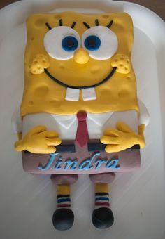 Spongebob Spongebob, Cake Ideas, Cakes, Pastries, Torte, Cookies, Animal Print Cakes, Layer Cakes, Cake