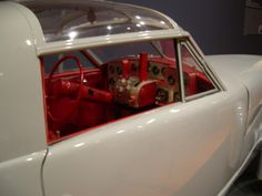 """I love the """"cockpit"""" on this 1948 Tasco. Photo taken at the Atlanta High Museum, Dream Cars Exhibit. May 2014"""