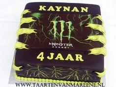 Monster Energy taart.