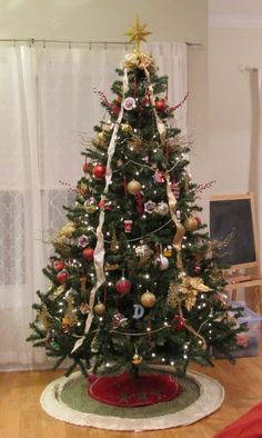 Our Christmas Tree & its heirlooms in the making! #christmas #ornament #tree #heirloom http://wp.me/p2UQlt-SP