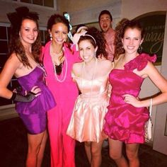 """""""80's Prom""""- Would be a great sisterhood event or mixer theme"""