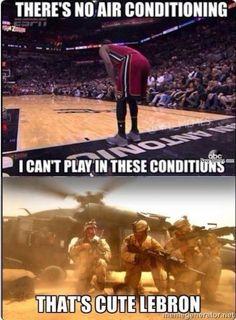 Military vs Lebron - Navy Memes - clean mandatory fun