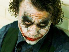 The Dark Knight: Heath Ledger and Christian Bale in Batman on.: The Dark Knight: Heath Ledger and Christian Bale in… The Joker, Heath Ledger Joker, Joker And Harley, Joker Batman, Joker Face, Batman Stuff, Heath Ledger Dark Knight, Harley Quinn, Real Batman