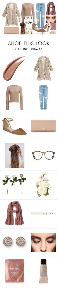 """""""Natural feels"""" by chalotteleah on Polyvore featuring Chico's, Carve Designs, Topshop, Seychelles, Prada, ASOS, STELLA McCARTNEY, Oscar de la Renta, Vince Camuto and Claire Evans"""