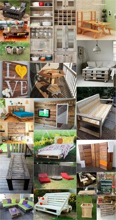 You can craft outdoor furniture, indoor accessories, room decor and awesome wall decor from pallet wood. There is no limit to the creativity you can express with pallets.