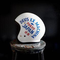 A selection of work by Brooklyn-based creative studio Young Jerks. Classic Motorcycle Helmet, Motorcycle Helmet Design, Motorcycle Equipment, Motorcycle Tank, Racing Helmets, Biker Helmets, Retro Helmet, Vintage Helmet, Biker Accessories