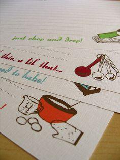 #Recipe Cards