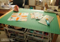 Cut and organize your fabrics with this IKEA piece!