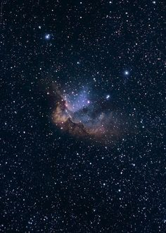 NGC 7380 The Wizard Nebula HST palette w/DSLR | by astrochuck