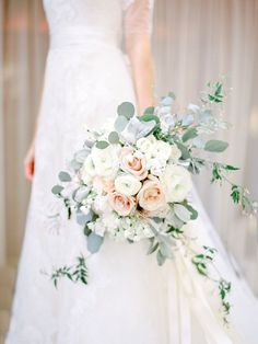 Eucalyptus and rose bouquet | Photography: Coco Tran