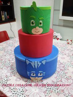 Pj Mask, Kids Ride On, Flora, Sweet, Food Cakes, Birthday, Candy, Plants