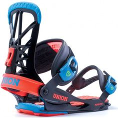 Union Flite Pro Snowboard Bindings - Black Blue