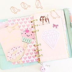 Always love seeing @liliyo.g planner with my Clips! Your planner is always so gorgeous... | Use Instagram online! Websta is the Best Instagram Web Viewer!