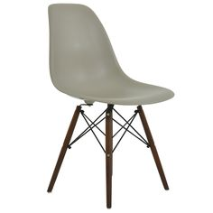 DSW Replica Dining Chair Biscuit Walnut The shape of this seat has a timeless simplicity which adds a touch of elegance wherever the chairs are placed, at a table, in an office or meeting room, or as side chairs in a bedroom or hallway. Prices from £49.99 http://www.lakeland-furniture.co.uk/eames-eiffel-dsw-biscuit-side-dining-chair-1.html