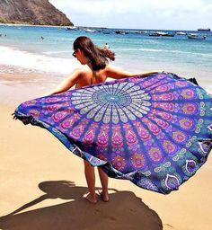 indian beach mandala roundie