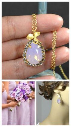 Bridesmaid Wedding Bridal Jewelry Bridesmaid by thefabwedding2, $25.99