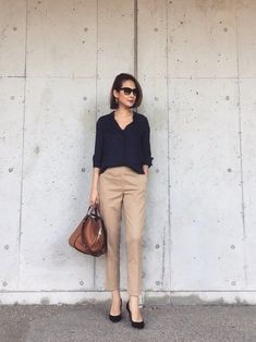 97 Best and Stylish Business Casual Work Outfit for Women - Biseyre Casual Work Attire, Classy Work Outfits, Office Outfits Women, Summer Work Outfits, Style Casual, Business Casual Outfits, Preppy Outfits, Casual Chic, Casual Summer