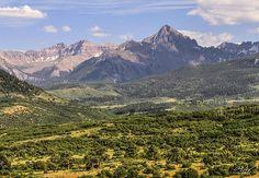 Dallas Divide and Colorado 14er Mt. Sneffels - Aaron Spong - http://aaron-spong.artistwebsites.com/