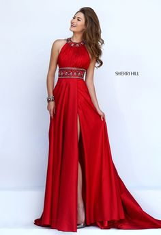 Sherri Hill dresses are designer gowns for television and film stars. Find out why her prom dresses and couture dresses are the choice of young Hollywood. Elegant Dresses, Pretty Dresses, Beautiful Dresses, Formal Dresses, Sherri Hill Prom Dresses, Prom Dresses 2016, Wedding Dresses, Couture Dresses, Fashion Dresses
