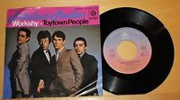 "FABULOUS POODLES - Workshy + Toytown People - Vinyl 7"" Single - PYE Records"