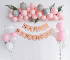 Perfect addition to the birthday party to make it special and memorable. #Balloons #birthdayideas #Partydecor #Balloongarland