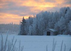 Jouluinen maisema photo by Marja Leena