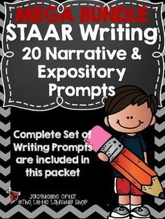 STAAR Writing Prompts {BUNDLE of ALL The Narrative & Expository 4th & 7th Grade Writing Prompts!} This is a GREAT tool will help your students prepare for the STAAR test!SAVE$$$$$ By purchasing this BUNDLE!Included:All my Sets from 1-4!!! All 20!
