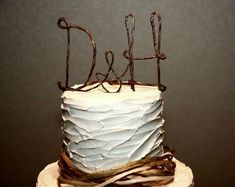 Etsy, wedding cake topper