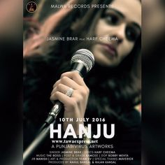 Latest Punjabi Hanju Song...Hanju Song ,Artist: Jasmine Brar, Harf Cheema...Gall ikko gall te, Mukauni aa Harf ve Apne toh wadh teinu,Chauni aa Harf vee..
