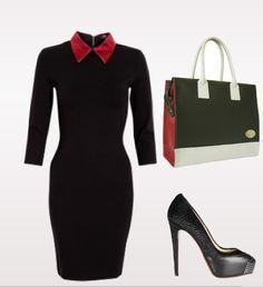 Lupfer dress & 3 colour tote