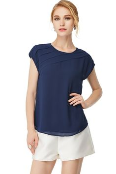 Pleated Shell Top - ME Boutique Online