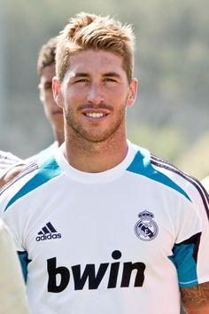 Sergio Ramos, delantero del real madrid y de la seleccion española de futbol
