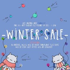 We're having a winter sale🎄You can get 25% off all orders with coupon code SNOWCAT, sale valid 29.12- 7.01😸Have a good weekend everyone 🌟#catmadecom #cats #catearrings #sale #handmade #catlovers #catlady #etsy #craft