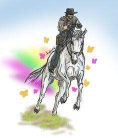 Marston Unicorn Attack by hiropon056.deviantart.com on @deviantART finding my stuff in Pinterest :3
