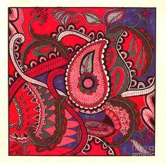 paisley felt designs - Google Search