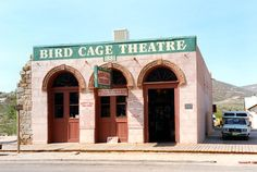 The Birdcage Theater, Tombstone, AZ.  → For more, please visit me at: www.facebook.com/jolly.ollie.77