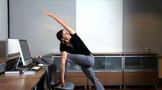 Top des exercices physiques à faire au bureau