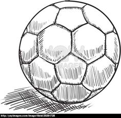 pencil drawing soccer ball google search football and me