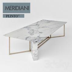 Meridiani marble table
