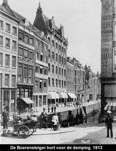 De Boerensteiger kort voor de demping 1913