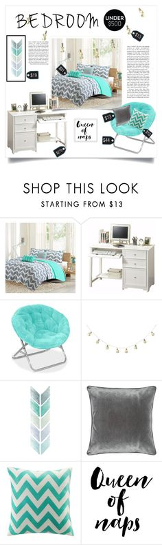 """Bedroom Upgrade"" by ravinap on Polyvore featuring interior, interiors, interior design, home, home decor, interior decorating, Intelligent Design, Home Decorators Collection, M&Co and bedroom"