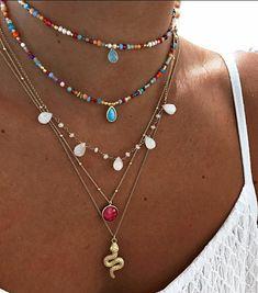 Trendy Accessories, Trendy Jewelry, Cute Jewelry, Jewelry Accessories, Jewelry Design, Nail Jewelry, Beaded Jewelry, Jewelery, Jewelry Necklaces