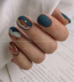 Perfect Nails, Gorgeous Nails, Pretty Nails, Cute Acrylic Nails, Acrylic Nail Designs, Hair And Nails, My Nails, Fire Nails, Minimalist Nails