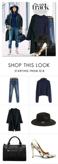 """""""New York Fashion Week Street Style"""" by never-alone ❤ liked on Polyvore featuring Steve Madden, women's clothing, women's fashion, women, female, woman, misses, juniors, Sheinside and shein"""