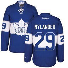 e474fdac068 Men s Toronto Maple Leafs  29 William Nylander Royal Blue 2017 Centennial Classic  Premier Jersey