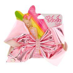 JoJo Siwa Large Pink Holographic Hair Bow