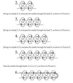 Square stitch technique